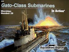 NEW Squadron/Signal In Action 4028 - Gato-Class Submarines US Subs in WWII