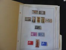 Greece 1960-1962 Stamp Collection on Album pages