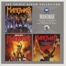 Manowar - The Triple Album Collection (2012)  3CD  NEW/SEALED  SPEEDYPOST