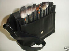 18 pcs Makeup Cosmetic Brushes Apron Strap Bag mineral trainer belt case Easy