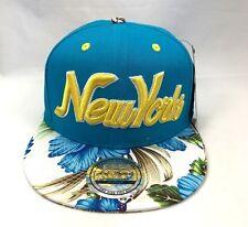 NEW YORK (NY) Snapback Berretto Da Baseball Nero