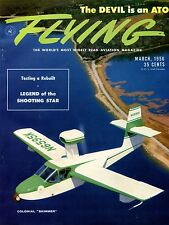 Flying Magazine March 1956 Colonial Skimmer EX No ML 120716jhe