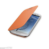Samsung Galaxy S3 SPH-L710 Boost Mobile Cell Phone OEM Flip Cover Case - Orange