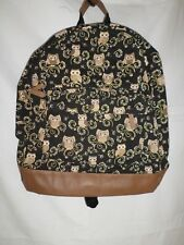 Daisy Flower Backpack Rucksack Bag Soft Canvas Shoulder Student Sports Cb162 Blue