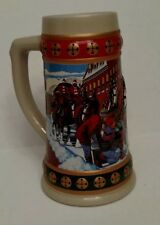 Budweiser Holiday Stein - Hometown Holiday 1993