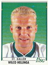 185 WILCO HELLINGA # NETHERLANDS FC.ST.GALLEN STICKER PANINI FOOTBALL 99
