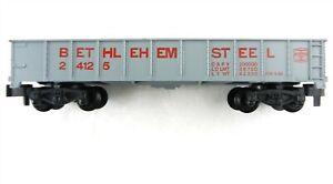 AMERICAN FLYER/Gilbert S Scale 24125 Bethlehem Steel Gondola~PAINTED~Mint~ T95