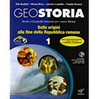 GEOSTORIA 1° BULGARINI BONIFAZI/RIZZO CODICE:9788823432802