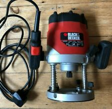 Black & and Decker Router, KW850E, 1100W, used once, FREE postage