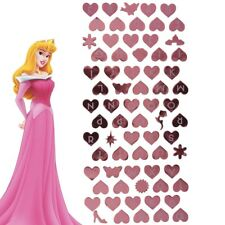 PINK DISNEY PRINCESS STICKERS Personalised Alphabet Name Letter Wall Door Decal