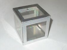 Vtg Ickle Pickle Products Crystal Clear Magic Cube Magicians Show Box