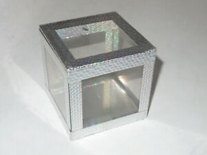 Magic Cube Magicians Show Box Vintage Ickle Pickle Products Crystal Clear