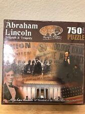 Gettysburg Souvenir Abraham Lincoln Triumph and Tragedy 750 Piece Jigsaw Puzzle