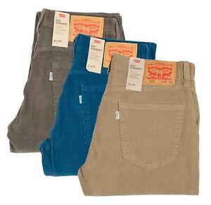 Levi's Jeans 514 Stretch Corduroy Men's Pants Sit Below Waist