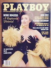 MIMI ROGERS  MARCH 1993 / PLAYBOY / LAURA DERN / ANNE RICE / EXCELLENT CONDITION