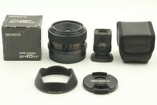 [NEAR MINT+++] Bronica Zenzanon-RF 45mm f4 + Viewfinder + Lens Hood From JAPAN
