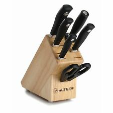 Wusthof Grand Prix II 7pc Knife Block Set