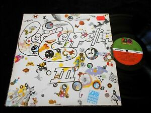 LED ZEPPELIN/3/III/GIMMICK COVER/GATEFOLD/FRENCH PRESS