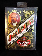 PLAYING CARDS Jack Daniel's plastic coated Gentlemen's deck Old No. 7 NOS