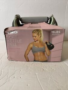 TKO Soft Kettle Bell 15 Pounds NEW Iron Sand Filled Free Shipping - Neoprene