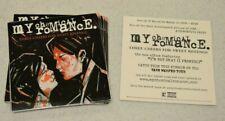 My Chemical Romance Three Cheers For Sweet Revenge Lot Of 9 Sticker + Bonus
