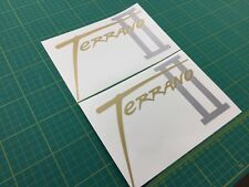 Terrano II ebro 2 decals stickers graphics restoration replacement Nissan