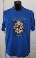 Satana Supernatural Concert Tour 1999 Blue T Shirt XL Vintage 90s Guitar Rare
