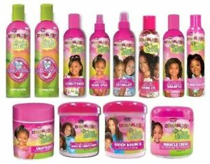 African Pride Dream Kids Olive Miracle Moisturizing Detangling Hair Care Product