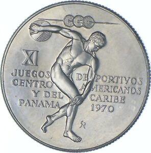 Better Date - 1970 Panama 5 Balboas - SILVER *559