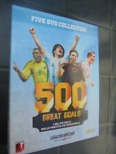 DVD N°1 + BOX 500 GREAT GOALS COLLECTION THE GOALS + BELLI MESSI RONALDO ITA-ENG
