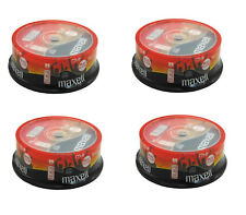 100 x Maxell CD-R 80 Mins XL-II Audio Recordable CDs In Spindle Free Delivery