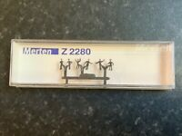 Suitable Marklin spur z scale/gauge Merten z Figures. Rare.