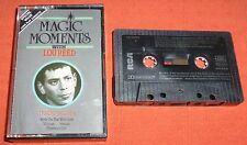 LOU REED - VERY RARE UK CASSETTE TAPE - MAGIC MOMENTS (BEST OF/GREATEST HITS)