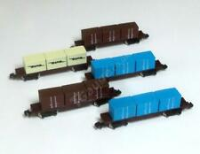 T Gauge 1:450 Scale 5 Container Wagons Set 041-5