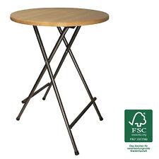 Stehtisch ST3 Kiefer Partytisch Holz FSC Tisch Party Klappbar Gartentisch