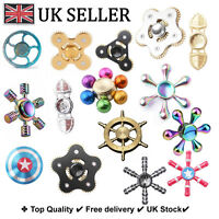 Fidget finger Spinner Autism Focus hand Aluminium Gear Metal Spiner EDC shredder