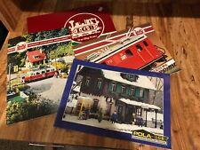 L.G.B. The Big Train Book & Magazine lot