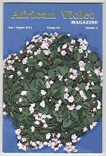 [56174] AFRICAN VIOLET MAGAZINE JULY/AUGUST 2011 VOL. 64, No. 4