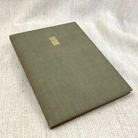 1938 Antico Libro Edizione Limitata Catalogo Di Stampe Mezzotints Sir Frank