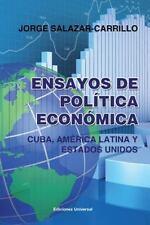 Ensayos de Politica Economica. Cuba, America Latina y Estados Unidos-ExLibrary