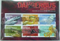 Australien Australia 2006 Dangerous Australians Block 64 Special Edition MNH