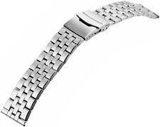 Uhren Armband für eine Uhr Edelstahl 20 mm Sicherheitsfaltschließe