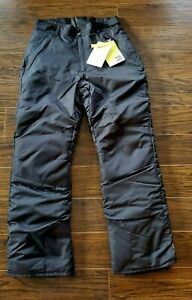 Men's Snow Pants All in Motion Black Size Small  NEW WITH TAGS