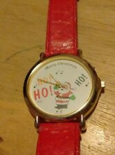Vintage Musical Santa Claus watch, Running new battery L