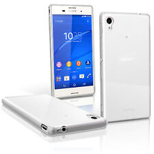 For Sony Xperia M4 Aqua Slim Transparent Clear Silicone Gel Case Cover Experia