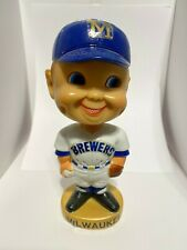 1974 Milwaukee Brewers Bobble head.  With box.  Danny Goodman concessions. Rare!