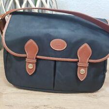 Longchamp Saddlebag Messenger schwarz neuwertig crossbody Umhängetasche