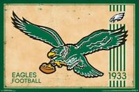 PHILADELPHIA EAGLES ~ 1933 FOUNDED LOGO ~ 22x34 POSTER NFL National Football