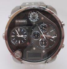 Diesel DZ7221 Mr Daddy Chrono Black Dial Steel Bracelet Men Watch stem broken
