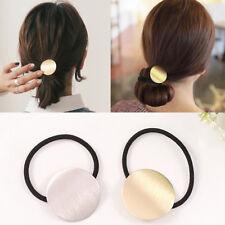 Women Korean Style Metal Simple Headband Head Piece Elastic Hair band Rope NEW